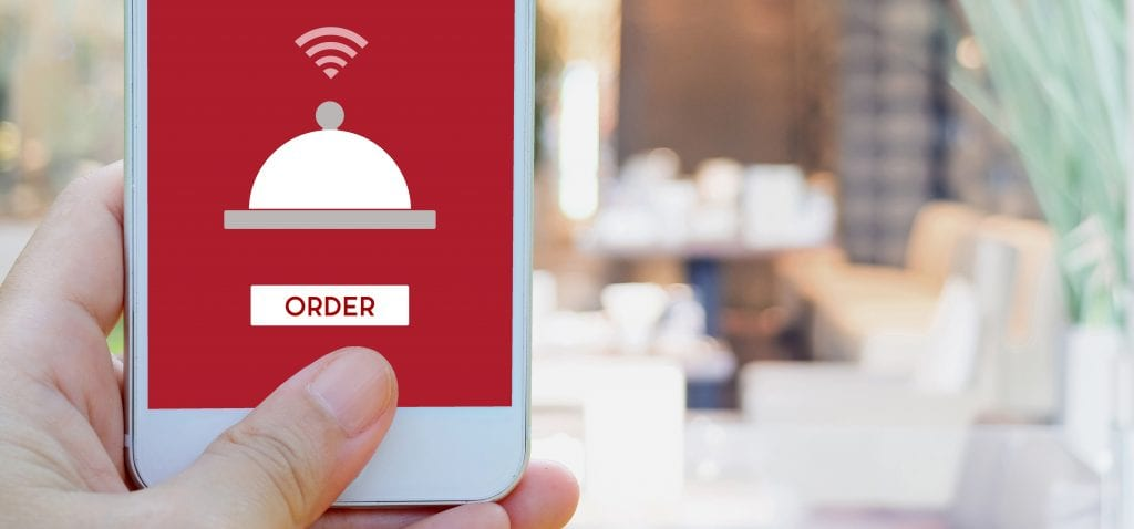 mobile ordering app for restaurants with Craver