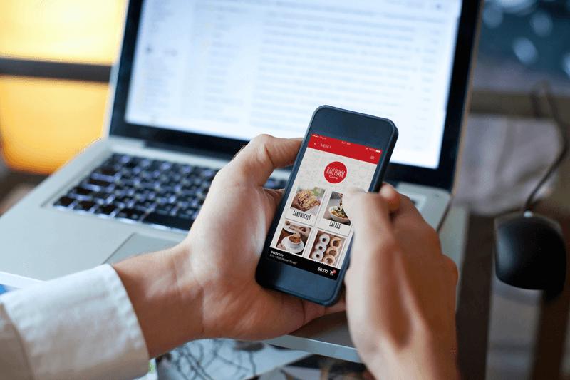 mobile app restaurants