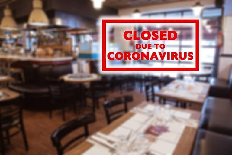 restaurants closed coronavirus