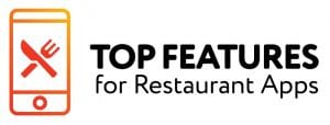 features for restaurant apps